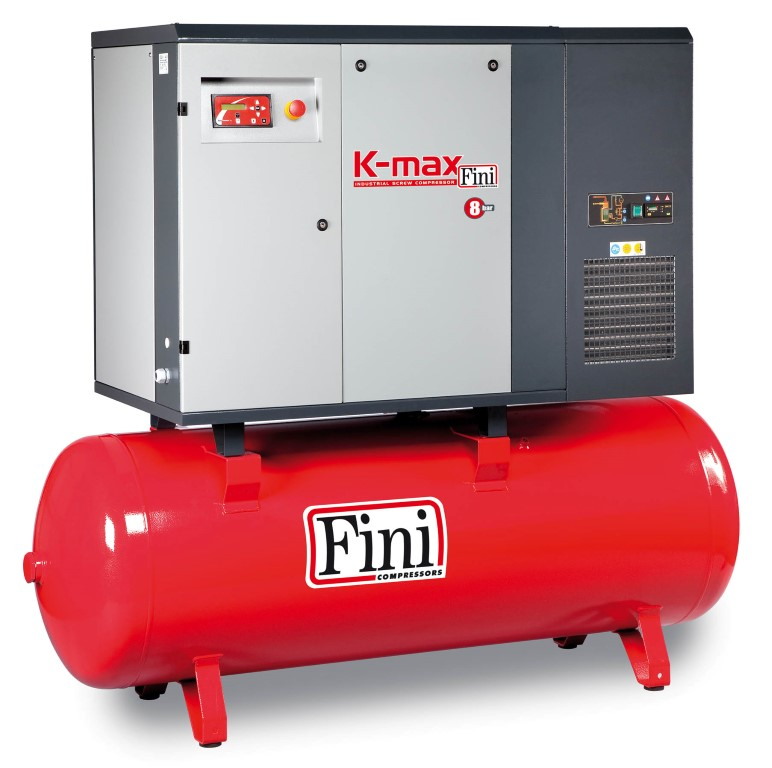 K Max Range Rotary Screw Air Compressors Variable Speed