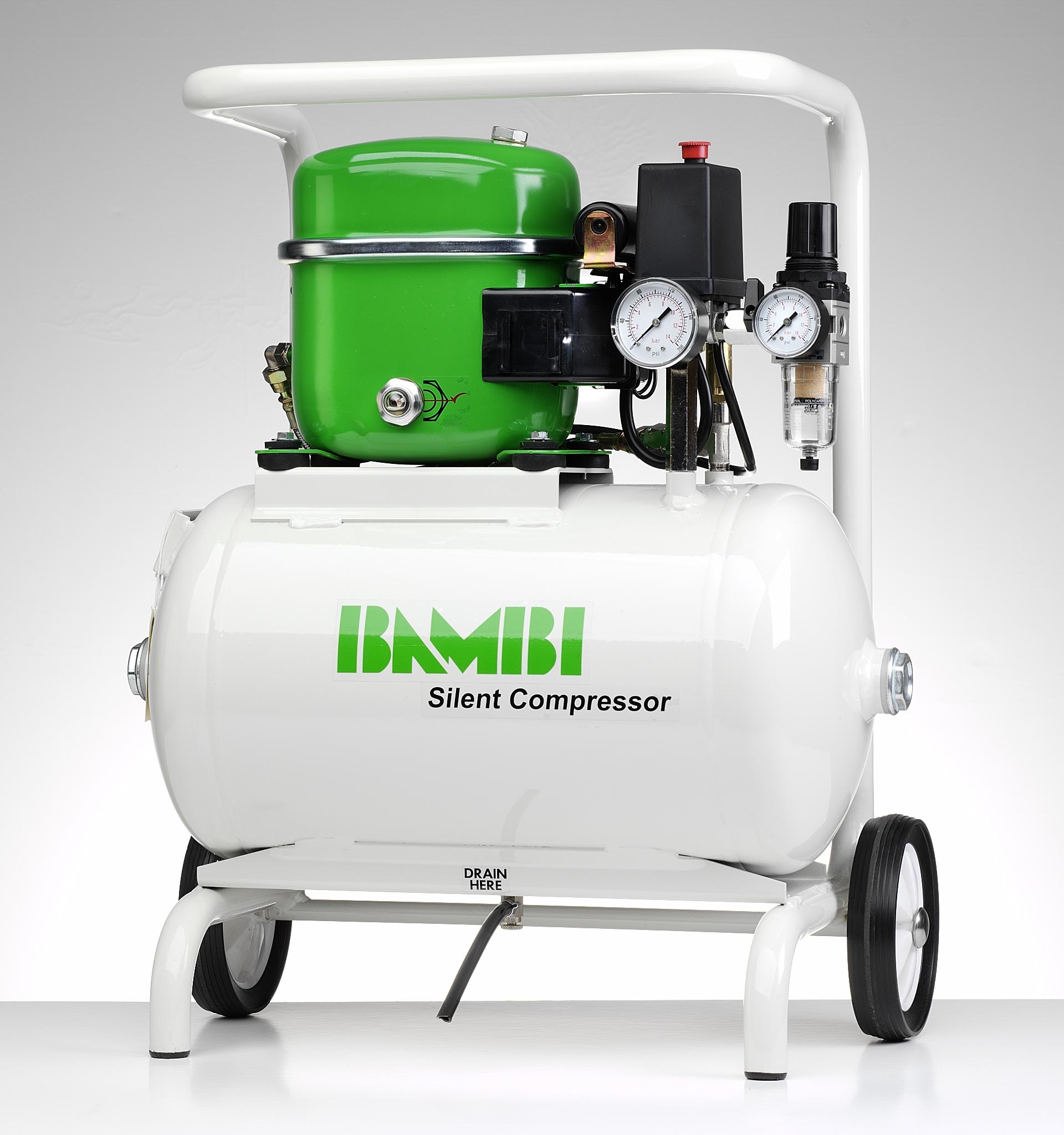 Bambi 0 5hp 15lt Oil Lubricated Air Compressor Dublin